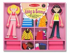 Магнитная одевалка Melissa & Doug 'Одень Эбби и Эмму' (MD4940)