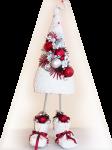 Подарок Мягкая плюшевая елка в ботинках (стандартная)