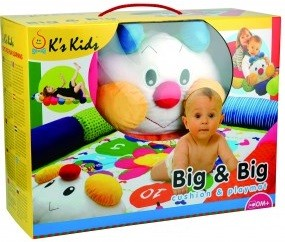 Развивающий коврик K's Kids 'Гусеничка'