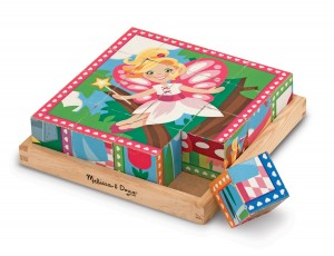 Кубики Melissa & Doug 'Принцессы и феи'  (MD9040)