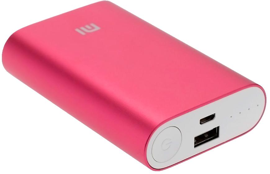 Внешний аккумулятор Xiaomi Mi power bank 10000mAh (NDY-02-AD) Red