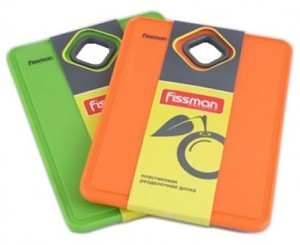 Пластиковая разделочная доска Fissman 19 х 13.5 см (PR-7705.CB)
