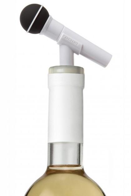 Стоппер для бутылки Rocketdesign 'Dynamike' белый (DYNAM-PRO-01-WHITE)