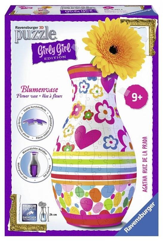 Купить 3D пазл Girly Girl 'Ваза Агата Прада' (RSV-120574), Ravensburger