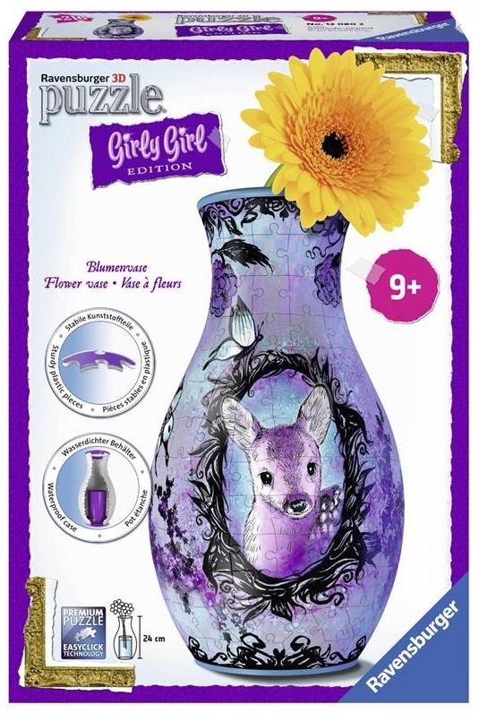 Купить 3D пазл Girly Girl 'Ваза Животные' (RSV-120802), Ravensburger