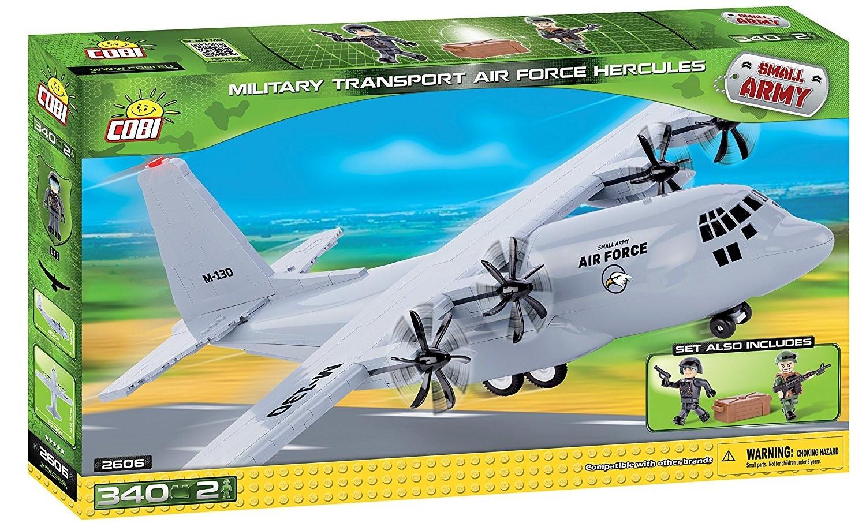 Купить Конструктор Cobi 'Военно-транспортный самолет Hercules' (COBI-2606)