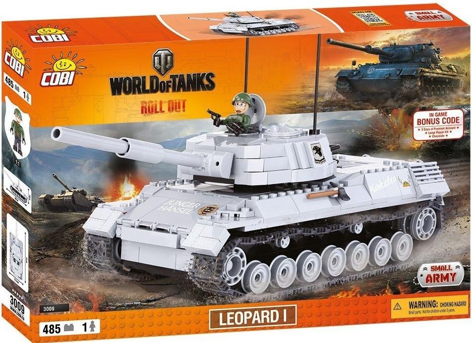 Конструктор Cobi 'World Of Tanks Леопард' (COBI-3009)