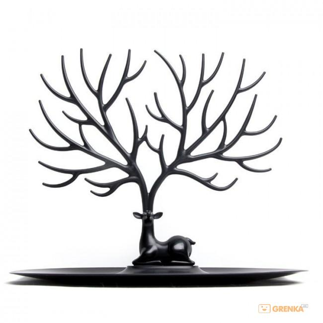 Купить Для украшений и аксессуаров Qualy 'My Little Deer' черный (QL10171-BK)