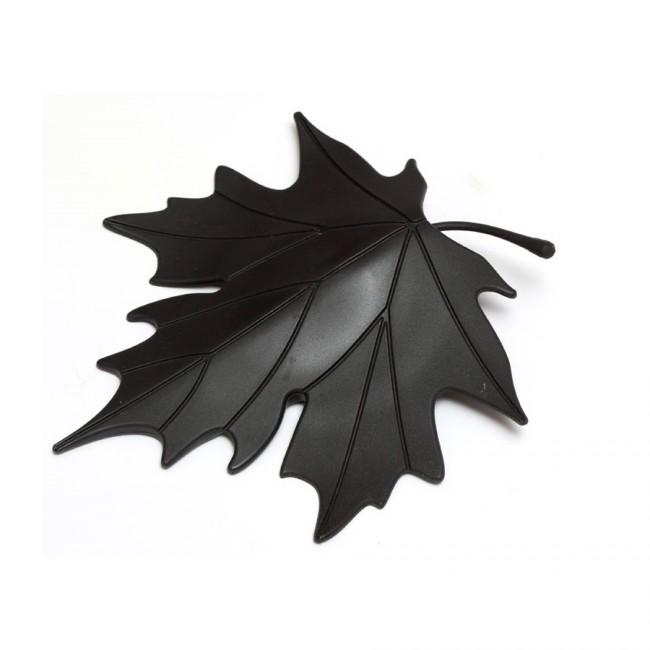 Купить Стоппер для двери Qualy 'Autumn' черный (QL10072-BK)