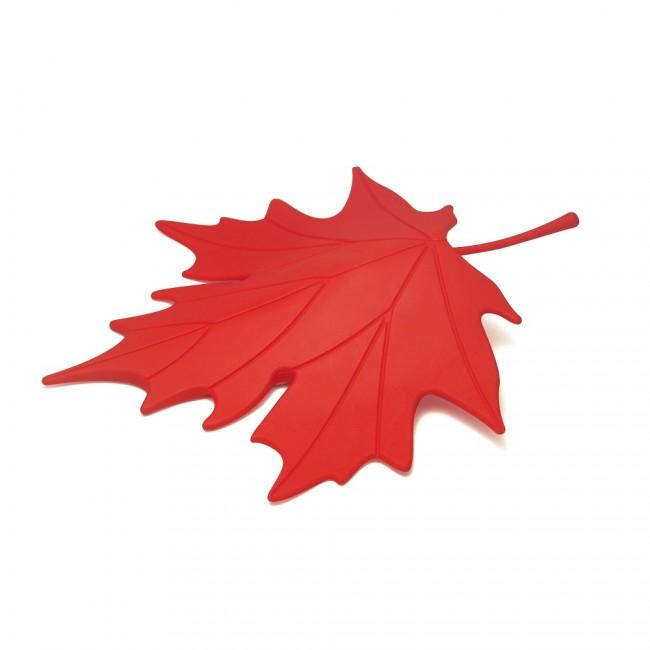 Купить Стоппер для двери Qualy 'Autumn' красный (QL10072-RD)