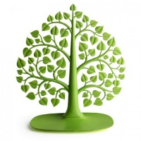 Подарок Органайзер для украшений и аксессуаров Qualy 'Bodhi' зеленый (QL10173-GN)