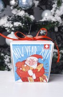 Подарок Печиво з передбаченнями 'Happy New Year 2017'