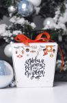 Подарок Печиво з передбаченнями 'З Новим роком та Різдвом'