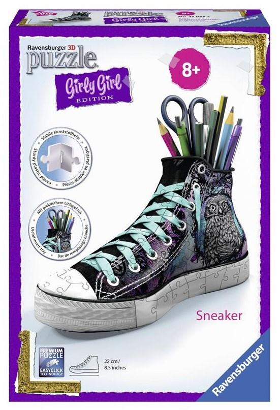 Купить 3D пазл Girly Girl 'Подставка-кед для крандашей Животные' (RSV-120857), Ravensburger