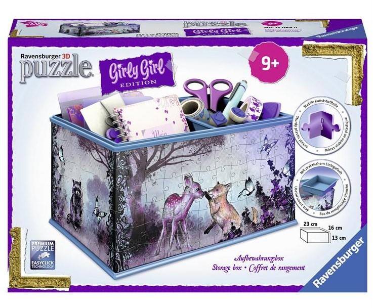 Купить 3D пазл Girly Girl 'Шкатулка Животные' (RSV-120840), Ravensburger