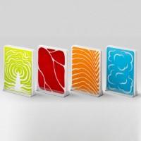Набор разделочных досок Qualy 'Slice Cutting Board Set' (QL10137-MX)