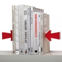Подарок Держатель для книг (букенд) Peleg Design 'Arrow Magnetic Bookend' (PE718)