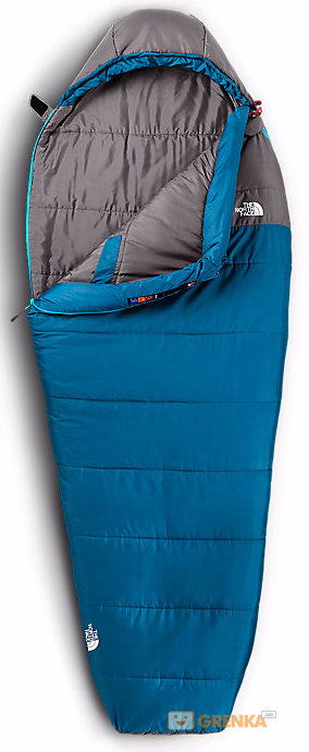Спальный мешок The North Face ALEUTIAN 20/-7 T0A3A0 (M8R - Striker Blue/Zinc drey)