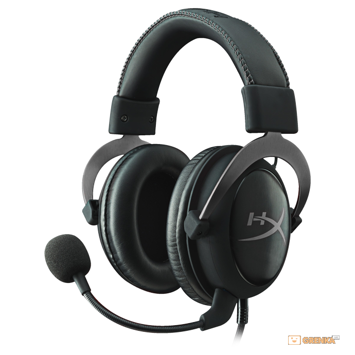 Гарнитура Kingston HyperX Cloud II Gun Metal (KHX-HSCP-GM)