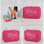 Подарок Дорожный органайзер для косметики 'Venice' (розовый)