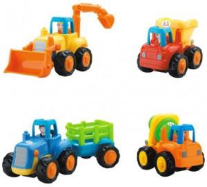 Набор машинок Huile Toys 'Грузовичок' 4 шт (326)