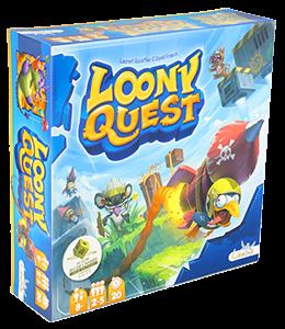 Настольная игра 'Loony Quest (Луні Квест)' укр. (2412)