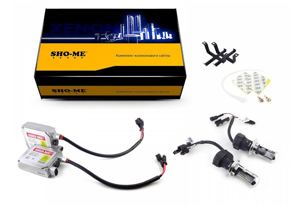 Би-ксенон Sho-Me Н4 H/L 4300K