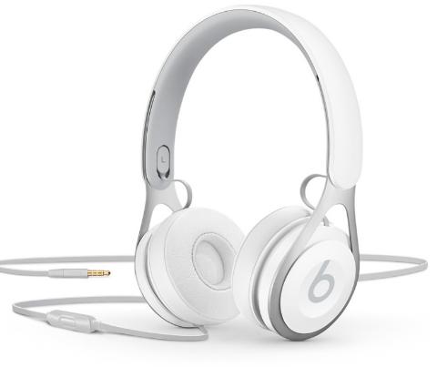 Купить Наушники Beats EP On-Ear Headphones White (ML9A2ZM/A), Beats by Dr. Dre