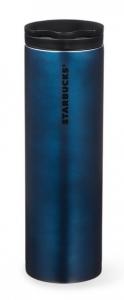 Подарок Тамблер Starbucks 11047952 Stainless Steel Tumbler - Navy Blue 473 мл