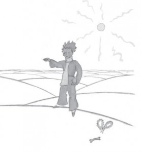фото страниц Маленький принц (з малюнками автора) #3