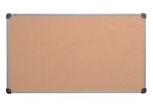 Подарок Пробковая доска S-line 65 x 100 cм в алюминиевой раме