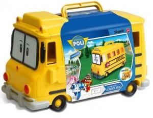 фото Кейс-гараж школьный автобус Скулби Silverlit 'Robocar Poli' #3