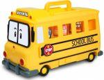 Кейс-гараж школьный автобус Скулби Silverlit 'Robocar Poli'