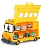фото Кейс-гараж школьный автобус Скулби Silverlit 'Robocar Poli' #2