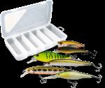 Супер-комплект 'Коробка спиннингиста': коробка Aquatech и 6 хитовых воблеров Usami