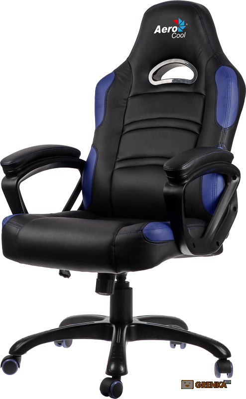 Геймерское кресло AeroCool C80 Comfort Gaming Chair (Black/Blue)