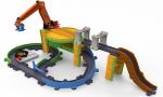 Игровой набор Chuggington 'Грузовая станция с паровозиком Коко' на батарейках (LC54260)