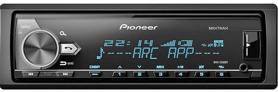 Магнитола Pioneer MVH-X580BT (без диска)