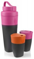 Набор стаканов Light My Fire Pack-up-Drink Kit Fuchsia/Orange (LMF 50699340)