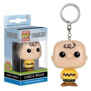 Подарок Брелок Funko Pocket Pop! Keychain Peanuts: Charlie Brown (9229)