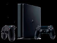Приставка Sony PlayStation 4 Slim 1000gb + Доп Джойстик Version 2