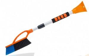 Подарок Скребок-щетка с телескопической ручкой 'Арктика' 75-105 см