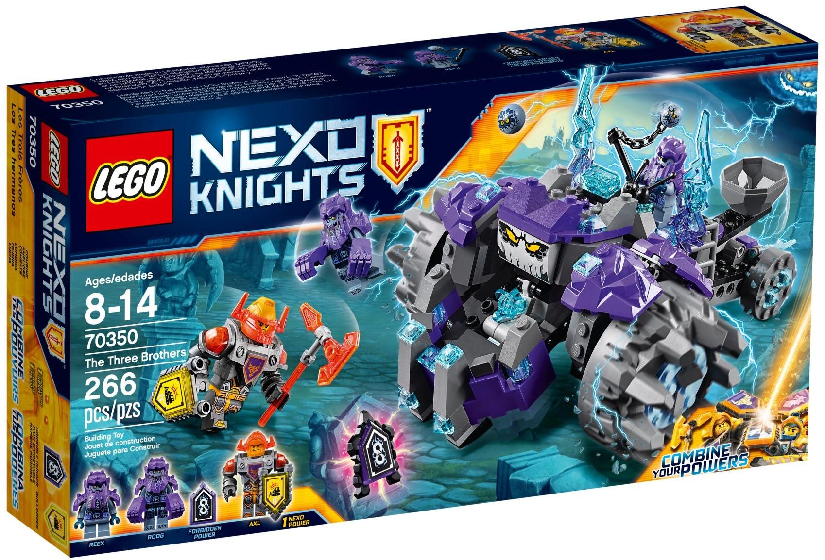 Конструктор LEGO Nexo Knights Три брата (70350)