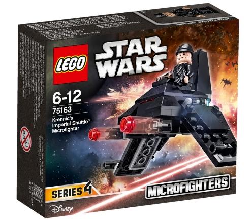 Конструктор LEGO Star Wars Микроистребитель 'Имперский шаттл Кренника' (75163)