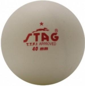 Шарики для настольного тенниса Stag One Star White Ball 6 шт (TTBA-440.W)