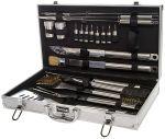 Набор инструментов для барбекю Fissman, 21 предмет в чемодане
