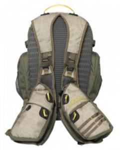 фото Жилет спиннингиста Golden Catch с рюкзаком бежевый #3