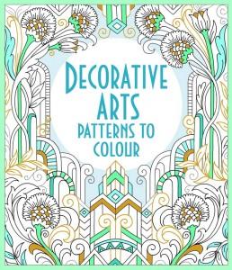Книга Decorative Arts Patterns To Colour