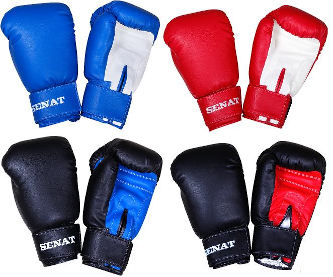 Купить Перчатки боксерские SENAT 10 унций