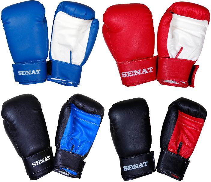 Купить Перчатки боксерские SENAT 12 унций